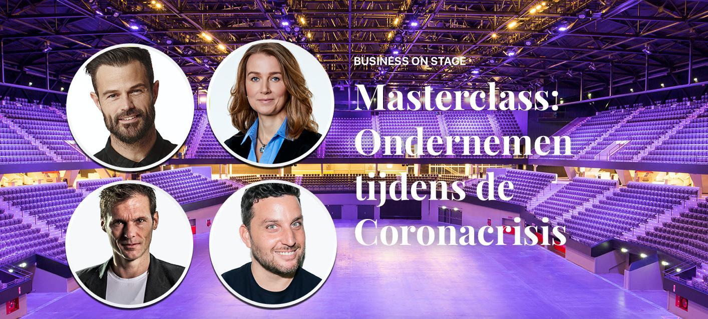 Rotterdam Ahoy opent op 3 september 2020 voor de eerste keer in de geschiedenis de grote zaal voor maximaal 100 personen tijdens het event Masterclass ondernemen tijdens de coronacrisis.