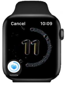 Apple Watch handwastool