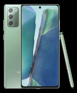 Samsung Note 20 Green